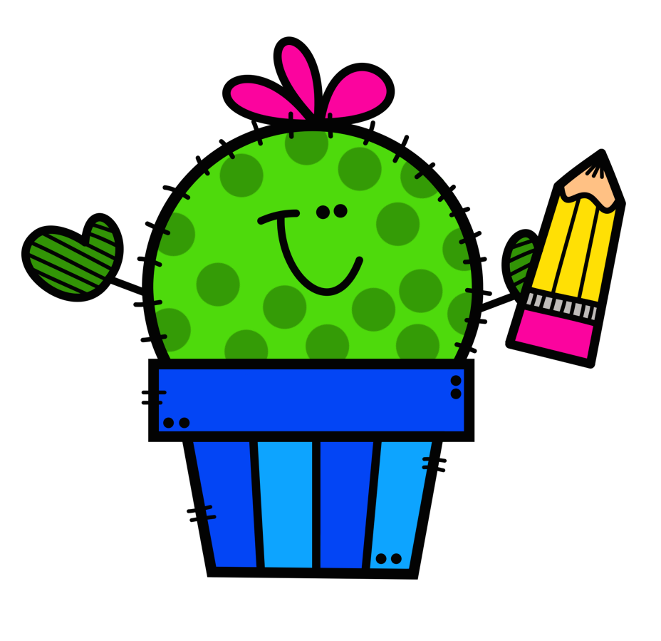Image result for cactus welcome to 3rd grade clipart